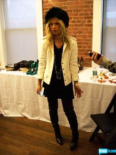 D&G; Black jeans    Chanel jacket