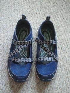 2bf0dc9ffeff Sandals · RYKA NAVY BLUE ADJUSTABLE MESH MARYJANE SNEAKER SHOE SZ 9 EUC QVC  A287807  fashion