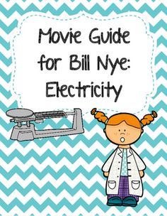 These video worksheets allow students to follow along as they watch the listed Bill Nye video. Watching a video is no longer a passive activity!! Students are engaged during the video as they must listen AND write at the same time; definitely an important skill for students to master. ...