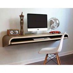 Minimal Wall Desk Schreibtisch. Design LabShape ...
