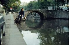 Bas Jan Ader, Fall II, Amsterdam, 1970.