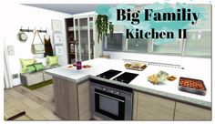 Big Family Kitchen II at Dinha Gamer • Sims 4 Updates