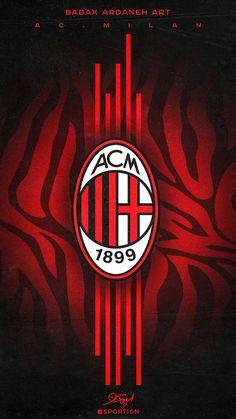 Milan Football, Football Fans, Milan Wallpaper, Hd Wallpaper, Wallpapers, Eminem Photos, European Soccer, Ac Milan, Chelsea Fc