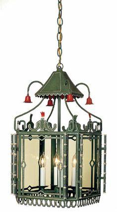 John Rosselli - Chinoiserie 2074A hanging lantern--wonderful!!