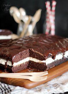 Tarta Whoopie de chocolate y malvaviscos