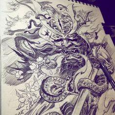 Ver esta foto do Instagram de @zhiyong_tattoo • 415 curtidas