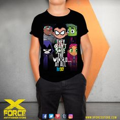 Camiseta Infantil Jovens Titãs Teen Titans Go Robin Ravena no Teen Titans Go, Anti Fashion, Robin, T Shirts For Women, Mens Tops, Biscuit, Ss, Geek, Spun Cotton