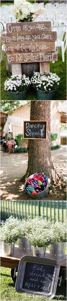 Rustic Buckets Tubs Wedding Ideas / www.deerpearlflow… Rustic Buckets Tubs Wedding Ideas / www. Wedding Goals, Wedding Themes, Wedding Tips, Diy Wedding, Wedding Ceremony, Wedding Flowers, Wedding Planning, Dream Wedding, Wedding Decorations