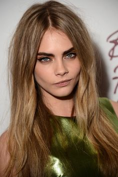 Cara Delevingne and Dark Blonde Hair Photograph