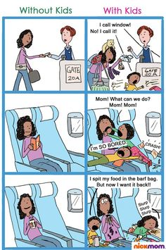Flying With Kids Vs. Without Kids  This is seriously me...EVERYTIME!