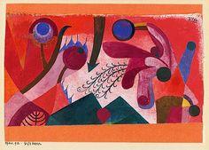 Paul Klee 1879 - 1940  Giftbeeren (Poisonous Berries)