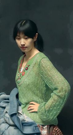 This Artist's Oil Paintings of Women Are Considered the Most Realistic in the World