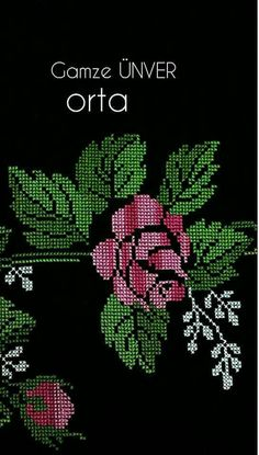 Hardanger Embroidery, Cross Stitch Embroidery, Hand Embroidery, Cross Stitch Designs, Cross Stitch Patterns, Embroidery Flowers Pattern, Vintage Cross Stitches, Cross Stitch Rose, African American Art