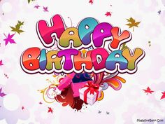 Happy Birthday Pictures Cards With Text Messages SMS   SMS Wishes Poetry