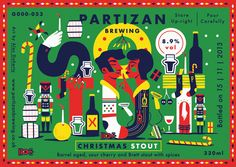 Partizan Brewing - Christmas Stout. G000-053