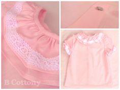 Camisa de cambraia cor de rosa 100% algodão