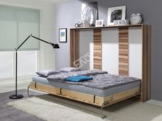 Sklápacia posteľ horizontálná - 90x200 | Nábytek ENO