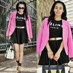 Fashionistas of South Africa - Instagram @kefiboo #SouthAfrica - South African Beauty & Style