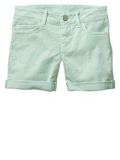 1969 denim midi shorts | Gap