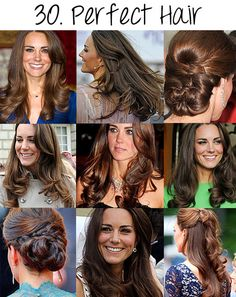 can I have her hair, please??? luv the top right and bottom right styles, soooo cute