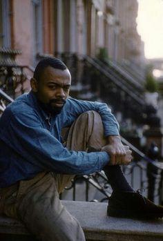 LeRoi Jones (Amiri Baraka) at his home in Newark, NJ (1959)