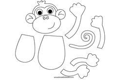 силуети-мавпа