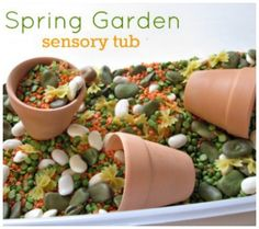 DIY Spring & Summer Sensory Bins For Babies & Toddlers | Disney Baby