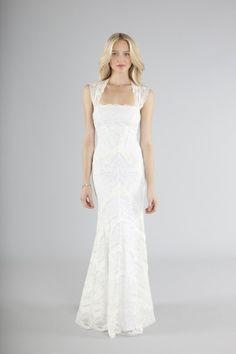 Lace wedding gown www.nicolemilleratlanta.com 404.261.0202