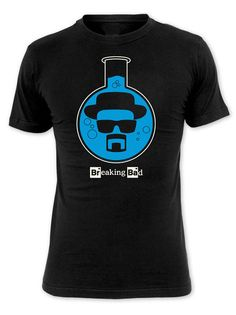 Camiseta Breaking Bad. Heisenberg en frasco de ebullición