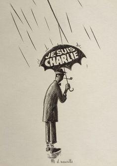 David Merveille #jesuischarlie #CharlieHebdo