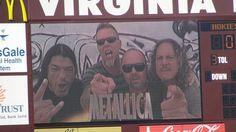 Virginia Tech Football Entrance to Enter Sandman (Remix)