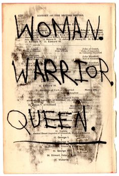 I have become a woman. They made me a warrior. But I have always been the Queen.