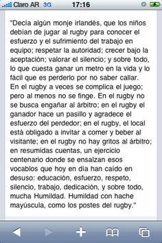 Yo jugué rugby y aprendí :) Rugby Girls, Wisdom, Bb, Kawaii, Inspirational, Education, Healthy, Sports, Anime