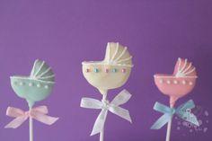 Baby shower cake pops #timelesstreasure                                                                                                                                                                                 More