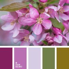 """""""пыльный"""" розовый, бледный лиловый, лиловый цвет, оттенки лилового, охра, палитра для ремонта, палитра цветов для дома, подбор цвета для квартиры, розовый, тёмно-зелёный, цвет зеленых листьев."""