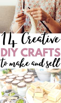 Cheap Homemade crafts to sell! I love all of these trending crafts to sell in 2020. These will be the most popular craft fair items that are sure to sell out quick! Homemade Crafts, Easy Diy Crafts, Diy Crafts To Sell, Crafts For Kids, Diy Projects To Make And Sell, Diy Craft Projects, Craft Ideas, Trending Crafts, Popular Crafts