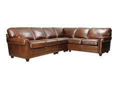 Andrew Leather Sectional Sofa by Luke Leather. See it here: http://www.leathergroups.com/shop/Andrew-Leather-Sectional-Sofa-by-Luke-Leather.html