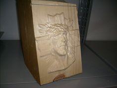 Jesus & Cross Wood