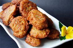 vegetarian accras with malanga (taro)