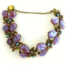 Vintage Florenza Saphiret Bracelet. SOLD