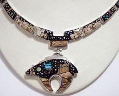 calvin begay pendants - Google Search