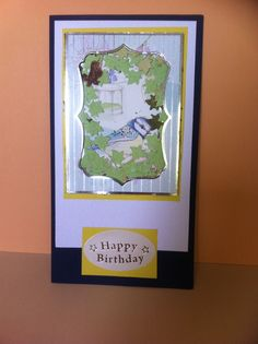 My mums Birthday Card. Hand made by Sharon Lee.