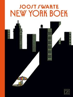 New York Boek by Joost Swarte with > 450 drawings for The New Yorker