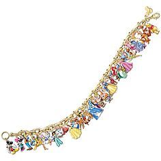 Gold Plated Ultimate Disney Classic Charm Bracelet Featuring 37 Disney Characters By the Bradford Exchange >>> Very kind of you to have dropped by to view our picture. (This is an affiliate link) Disney Dream, Disney Fun, Disney Girls, Disney Style, Disney Magic, Disney Princess, Disney Charm Bracelet, Disney Jewelry, Charm Bracelets