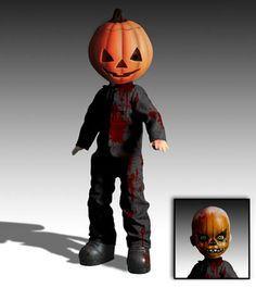 living dead dolls pumpkin