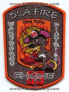 Federal Fire Dept New Cumberland DLA York County Engine 69 Patch Pennsylvania PA