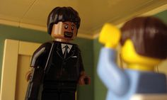 Famous Movie Scenes Created Out of Lego. Alex Eylar is a 21 year-old artist from Oakland, California who creates famous movie scenes using Lego bricks. Famous Movie Scenes, Famous Movies, Cult Movies, Iconic Movies, Good Movies, Films, Pulp Fiction, Lego Film, Lego Movie