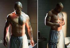 Dwayne Johnson Shirt Off -