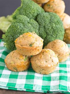 Sneak some extra veggies into these easy Broccoli Cheddar Cornbread Muffins! With just a hint of sweetness and a little bit of cheesiness, these cornbread muffins will soon be a new kid-favorite in your household. Freeze extra to have on hand for a quick lunchbox addition or dinner pairing.