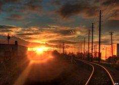 Langley Sunset